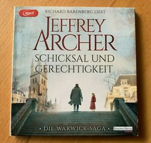 Jeffrey Archer -  Schicksal und Gerechtigkeit 2 MP3 CDs