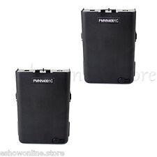 2pcs Radio Battery Pack Shell Case 5*AA for MOTOROLA GP68 GP63 Radio w/track NO
