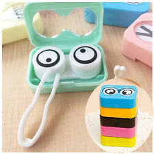 Cartoon Eyes Shape Contact Lens Case Box Container Holder Super Sale