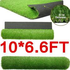 Garden Artificial Grass Turf 10ft x 6.6ft Synthetic Grass Mat Soft Pet Rug Floor