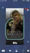 Star Wars Card Trader | Retro Stickers: Chewbacca