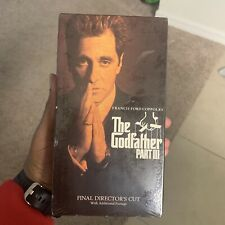 The Godfather Part Iii 3 Vhs 1990 Final Director's Cut Paramount
