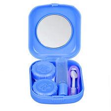 Mini Contact Lens Case color random Easy Carry Mirror Container Box Holder Xmas