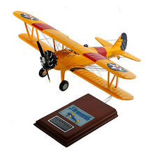 Mastercraft N2S-2/3/4 Stearman Yellow Peril Wood Model Airplane