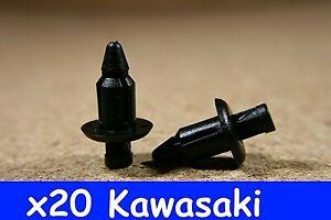 For Kawasaki 20 fairing cover panel trim fastener clips