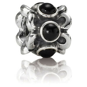 *Pandora Sterling Silver Forget Me Not Charm #790470O