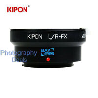 Kipon Adapter Focal Reducer Speedbooster for Leica R Lens to Fuji X FX Camera