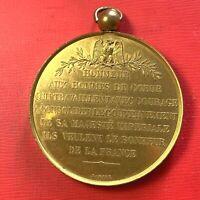 #5079 - Médaille Napoléon III Honneur aux hommes de cœur qui travaillent