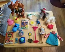 Old Toy lot Football Duck Doll Bill Nye Pokemon Activision Sock Monkey Superhero