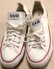 Vintage Converse All Star White Shoes Sneakers Unisex Men's Sz. 9 Womens 11