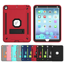 For Apple iPad Air 2 3 Pro 10.5 9.7 Inch Shockproof Heavy Armor Stand Case Cover