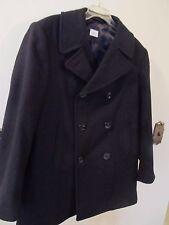 Peacoat 100% Wool Coats &amp Jackets for Men | eBay