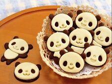 DIY Cute Panda Suit Chocolate Cookies Baking Cake Mold Kitchen Gadgets Tools LJ