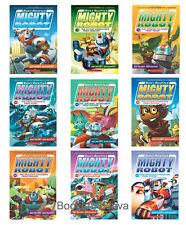 Ricky Ricotta: Ricky Ricotta's Mighty Robot 1-9 by Dav Pilkey (9 Paperback Set)