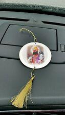 Sikh GURU gobind Singh JI BIADESIVO Ciondolo piccolo CD Auto Disco Stile Appeso