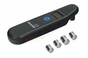 Oxford Digitale Reifendruckanzeige Elektronisch Digital 0-150 PSI 0-10 BAR