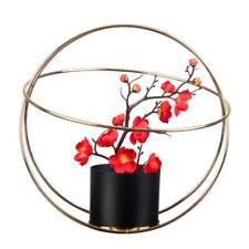 Wrought Iron Plant Pot Stand Rack Holder Indoor Outdoor Flower Arrangement Decor