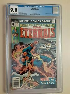 Eternals 3 CGC 9.8 - Thanos ties Upcoming movie  1st Sersi