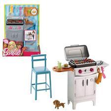 Barbie - Outdoor Furniture - Outdoor Grill Set & Accessories