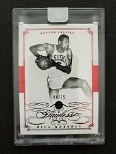 BILL RUSSELL 2014-15 FLAWLESS RED RUBY PARALLEL ENCASED #4/15! FACTORY SEALED SP