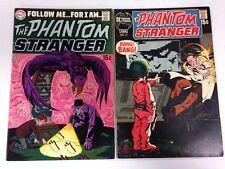 The Phantom Stranger #2 #13 #15 1969 1971