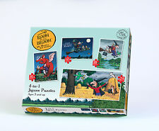 Room On The Broom 4-In-1 Jigsaw Puzzles - 12 16 20 & 24 Pieces - Brand New