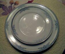 Vintage Noritake CHANESTA PATTERN Dinner & Salad Plates Made in Japan Nice Cond
