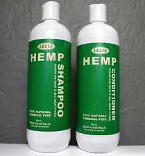 Hemp Shampoo & Conditioner for Sensitive Skin Pack - 500ml each - by GREEN Hemp