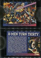 WIZARD PRESS ANDY KUBERT X-MEN 30TH ANN. STORE OWNER INCENTIVE PROMO CARD-NEW
