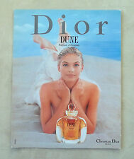 E587 - Advertising Pubblicità -1997- DUNE , PARFUM CHRISTIAN DIOR PARIS