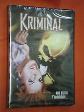 KRIMINAL- DVD-ORIGINALE- non esiste l'inviolabile-  SIGILLATO- lingua italiano