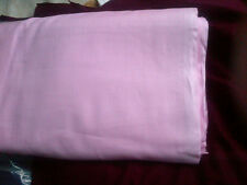 New Multi-purpose 100% Pure Cotton Lawn fabric  SWEET BABY PINK colour pp meter