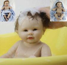 "20"" Vinile Doll Lifelike Reborn Baby boy Vinyl Kid playmate Bambole rinascere T3"