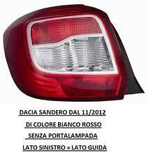 FARO FANALE POSTERIORE DACIA SANDERO DAL 11/2012 BIAN/ROSSO SINISTRO 507651