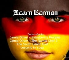 CD - LEARN GERMAN + Bonus Books