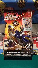 Power Rangers Megaforce Sea Lion Black Ranger Cycle