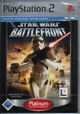 Playstation 2 Star Wars BATTLEFRONT Komplett DeutschSehr guter Zustand