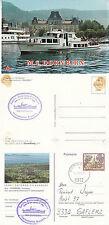 AUSTRIAN DAY CRUISER MS DORNBIRN A SHIPS CACHED POSTCARD & CACHED PLAIN CARD