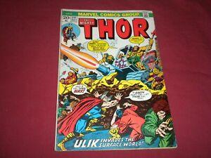 Thor #211 marvel 1973 bronze age 5.0/vg/fn comic!