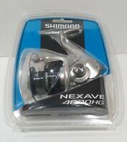 Shimano NEXAVE Spinning Reel 4000HG NEX-4000HGFEC 5.8:1 3+1 Fishing Reel NEW🔥