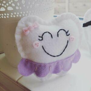 Tooth Fairy Pillow - Cute Ballerina