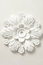 Anthropologie Home Decor Cartouche Ceiling Medallion Retails $328.00 Sold Out