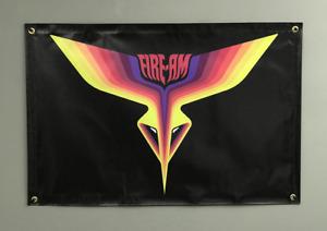 Pontiac Trans Am Fire Am 24''x36'' Garage Shop Banner