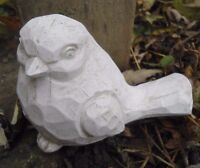 Latex mold bird mould plaster concrete casting garden mould