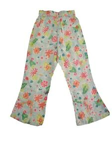 NEW OILILY Girls Floral Thin Cotton PANTS 140 152