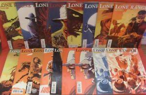 LONE RANGER VOL.2 DYNAMITE VARIANT LOT 17 COMICS ALEX ROSS FRANCAVILLA 2012 NM