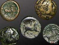 Ancient Greece, Kingdom of Macedon, Cassander (305-297 BCE), Bronze Unit(C)