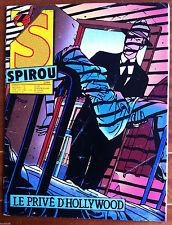a)SPIROU n°2505 Le privé d'hollywood