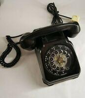 Stromberg Carlson 1543BT3-SL Telephone 402 Rotary Desk Phone Vtg Parts Repair