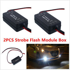 12V 2 PC alternato a sinistra / destra Strobe Flash Modulo Box per la nebbia luci LED Luce